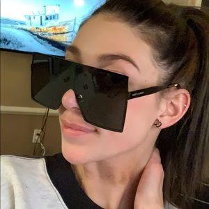 Saint Laurent Betty Oversized Sunglasses Authentic